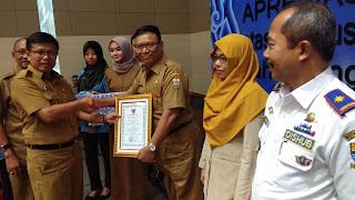 Lima SKPD Dapat Apresiasi Dari BKD Kota Cirebon