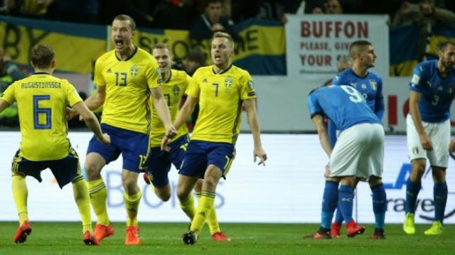 Swedia vs Italia