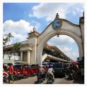 A visit to the city of Solo, Pasar Klewer