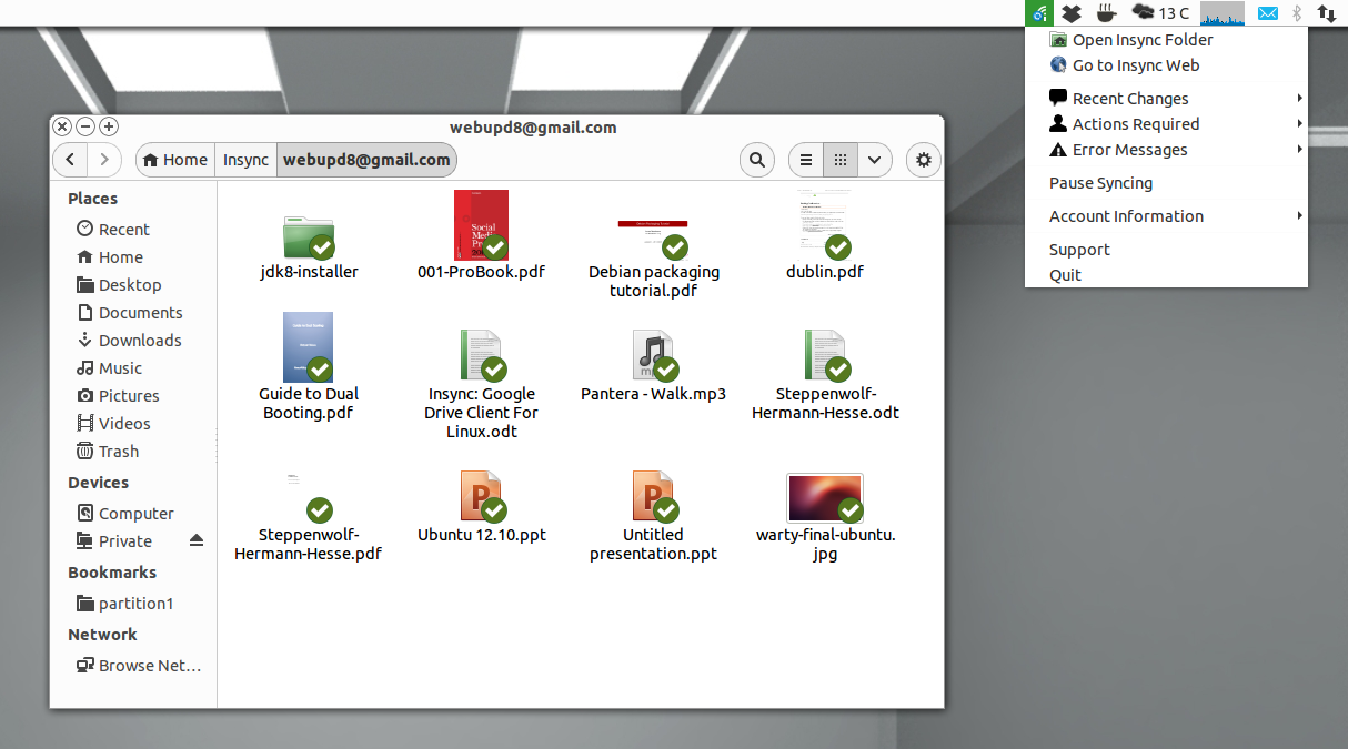 Insync Repository Available For Ubuntu, Linux Mint And
