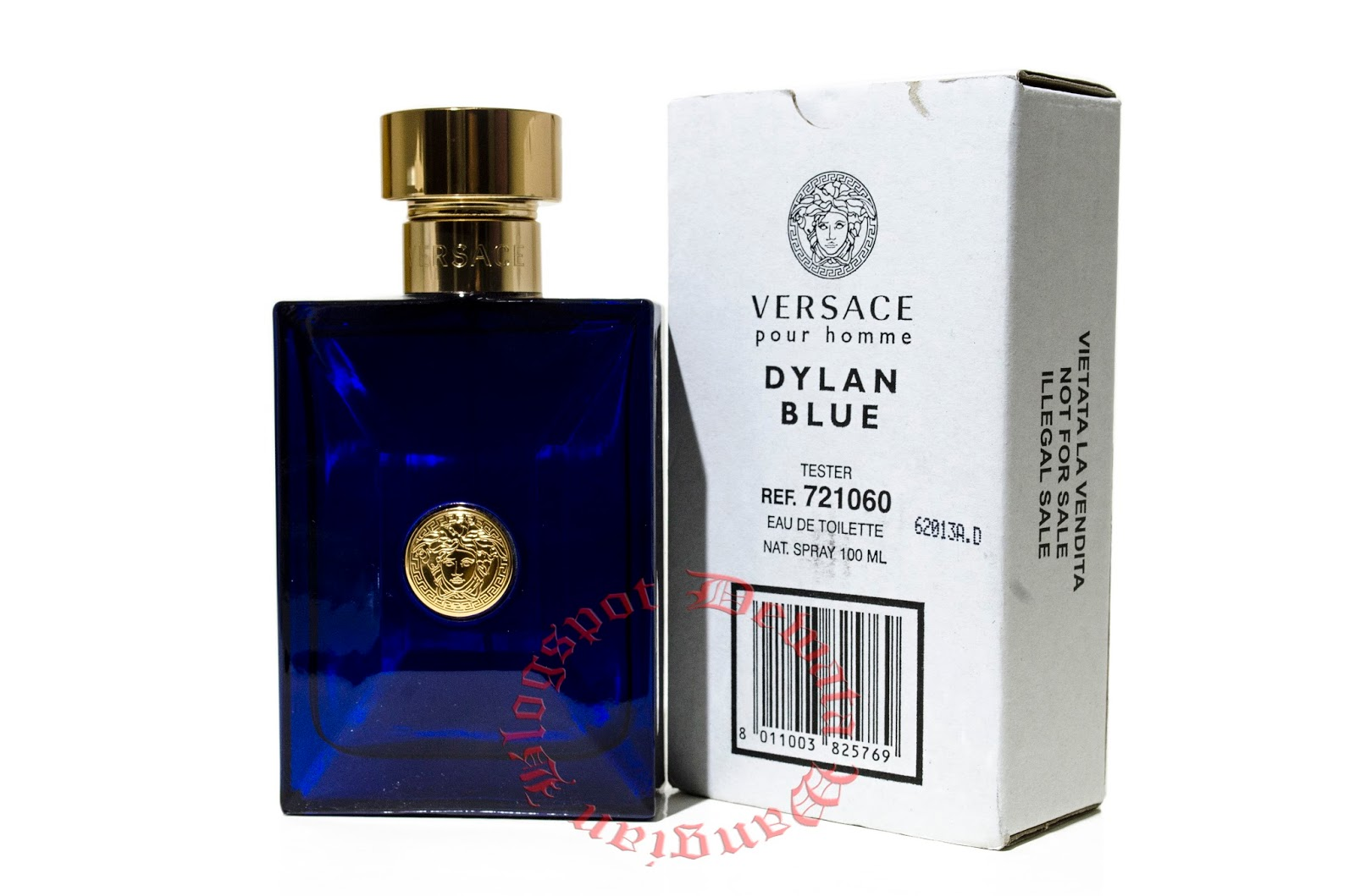18dd59334c3f VERSACE Pour Homme Dylan Blue Tester Perfume