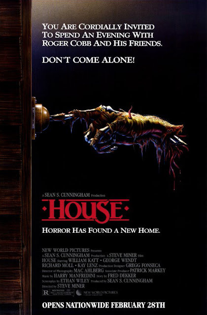House 1985 horror movie poster