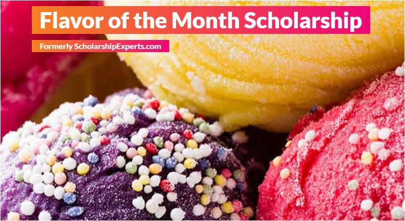 ice cream essay scholarship