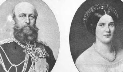 Friedrich Franz II., Großherzog von Mecklenburg [-Schwerin], Auguste Mathilde Wilhelmine Prinzessin Reuß zu Köstritz