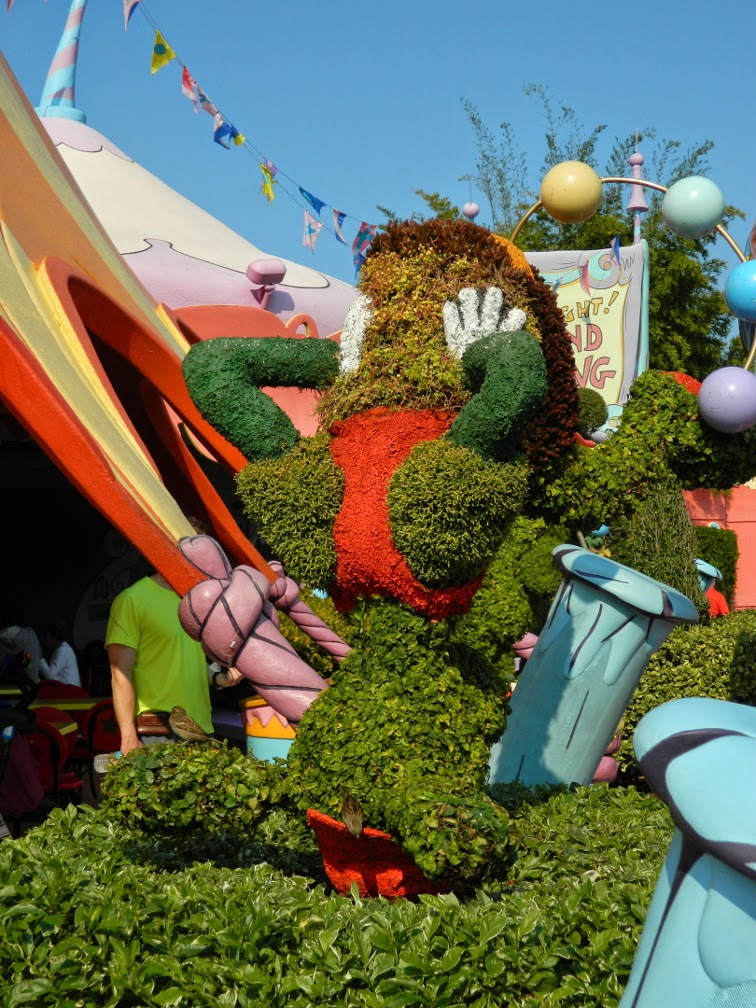 Seuss Landing topiary Universal Studios Orlando by garden muses-not another Toronto garden blog