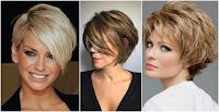 Resultado de imagen para cortes de cabello para mujeres de 60 años