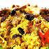 Resep dan Cara membuat Nasi Kebuli Daging Kambing Khas Arab timur tengah