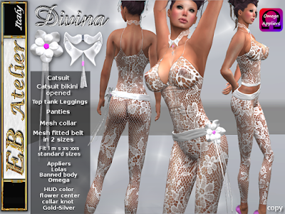 https://marketplace.secondlife.com/p/EB-Atelier-Divina-Catsuit-White-lace-3-styles-with-OmegaLolasBanned-body-italian-designer/7140554
