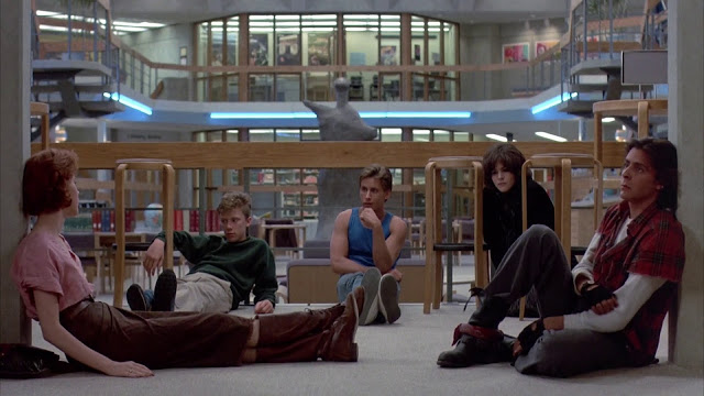 The Breakfast Club Screencaps John Hughes