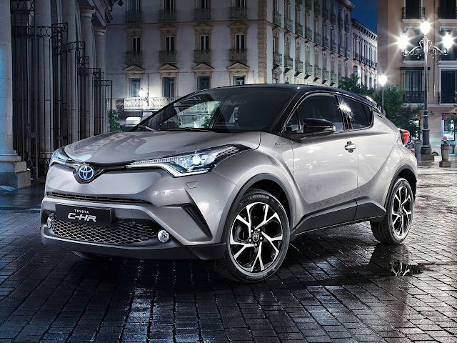 Toyota C-HR concorrente do HR-V