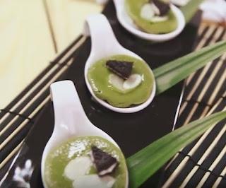 kue cubit green tea
