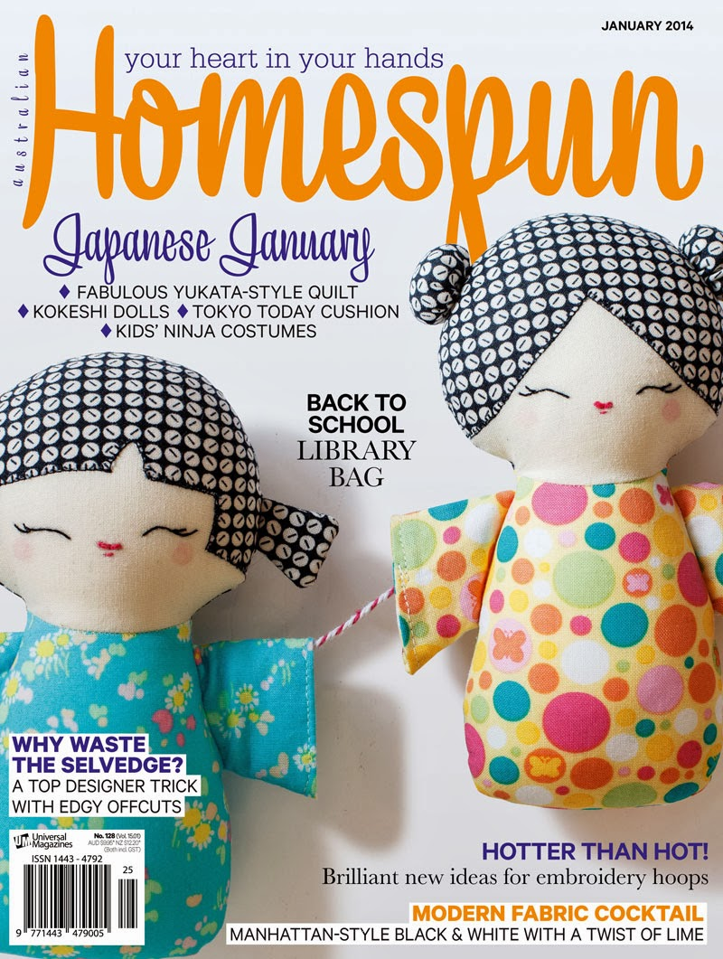 Goods From Japan in Australian Homespun magazine