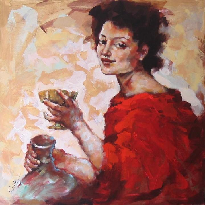 Энергичные картины художницы Renata Domagalska 17