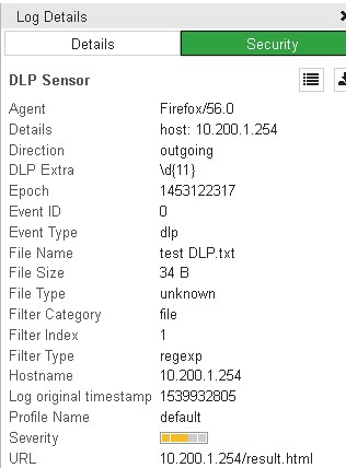 Data Leak Prevention (DLP) on Fortigate