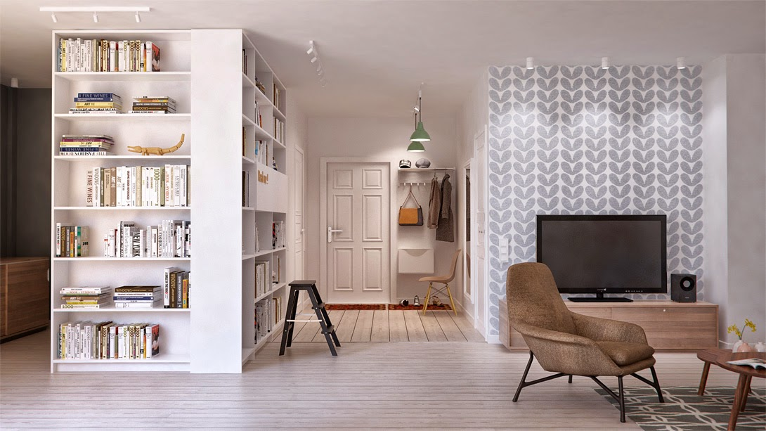 How To Create Different Functional Areas In A Large Room  Home