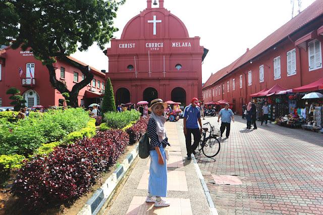 Melaka Red Building