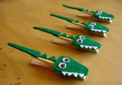 Pinzas de madera recicladas
