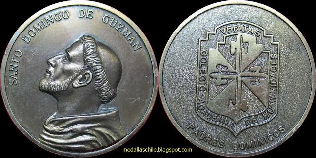 Medalla Santo Domingo de Guzman - Padres Dominicos Recoleta