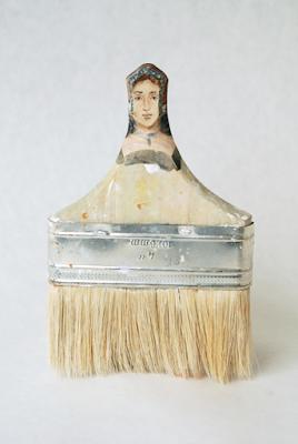 margaret roper-pennelli-rebecca szeto-Paintbrush Portraits-scultura-la santa furiosa