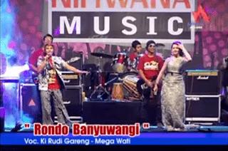 Lirik Lagu Rondo Banyuwangi (Dan Artinya) - Ki Rudi Gareng Ft Megawati