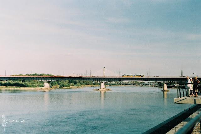 most śląsko dąbrowski, wisła, warszawa, rzeka most