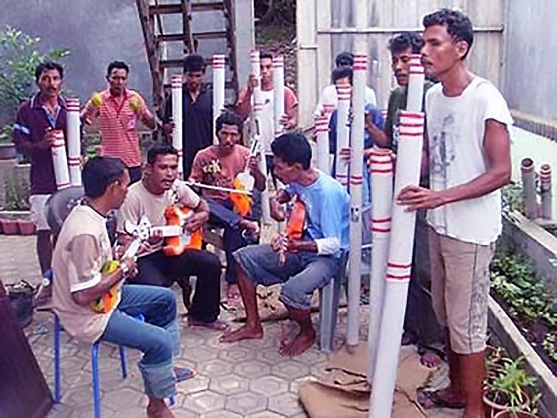 Musik Bambu Hitada, Kesenian Musik Tradisional Khas Maluku Utara