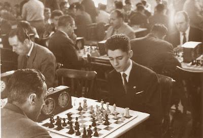 El ajedrecista Antoni Puget en 1959