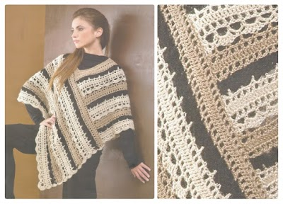 Poncho Crochet Patron
