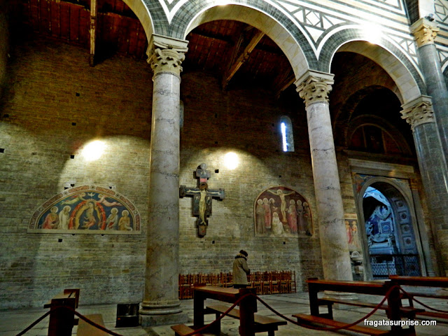 Florença - afrescos na Igreja de San Miniato al Monte