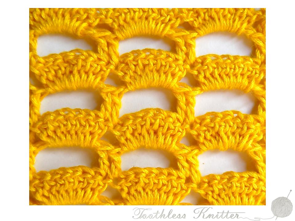Lace Stitch: Bows / Splot Ażurowy: Łuki