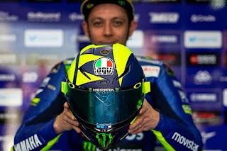 Helm Baru Valentino Rossi Musim 2018
