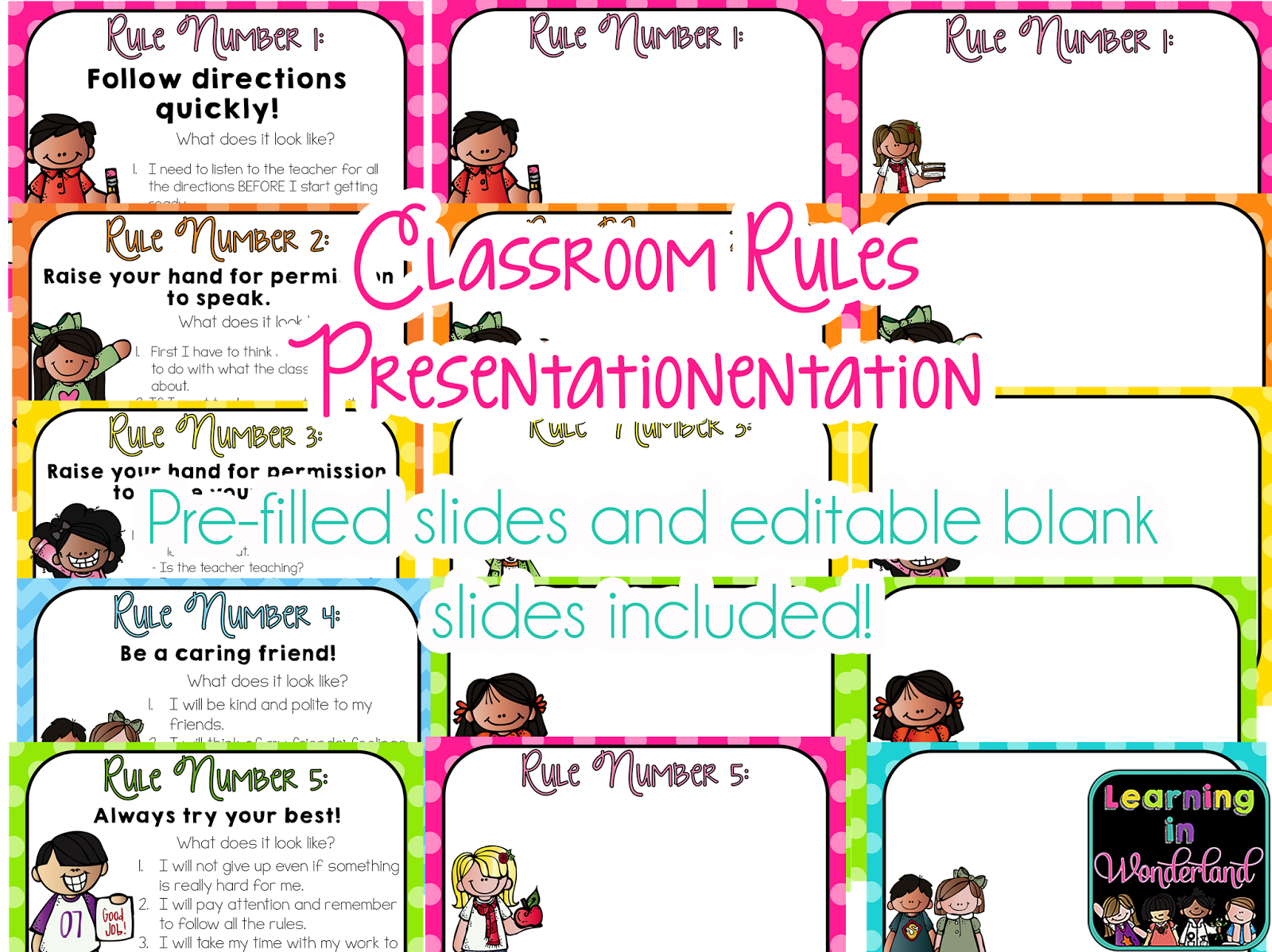 Modern Classroom Management Strategies ~ Unique classroom rules template collection example