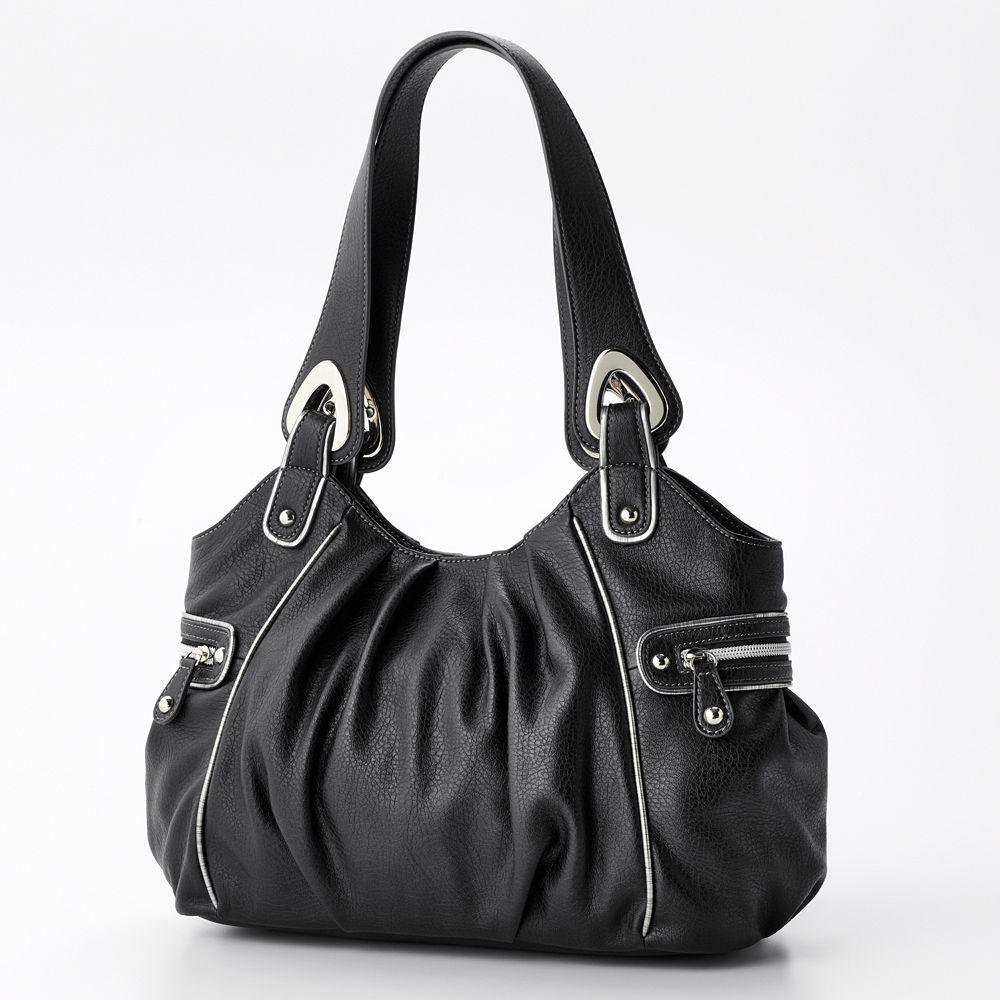 Nine Co Silver Lining Satchel Black Our Price Rm220 Free Poslaju To Anjung Details 10 H X 16 W 5 D Zipper Closure Shoulder Straps