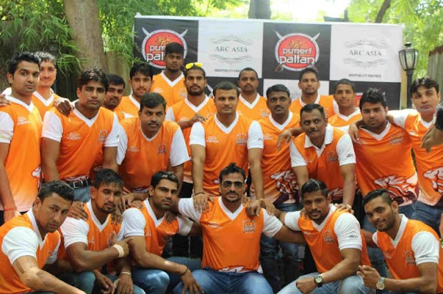 Puneri Paltan team 2016