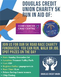 5k in Tramore Valley Park in Cork City - Sun 1st Dec 2019