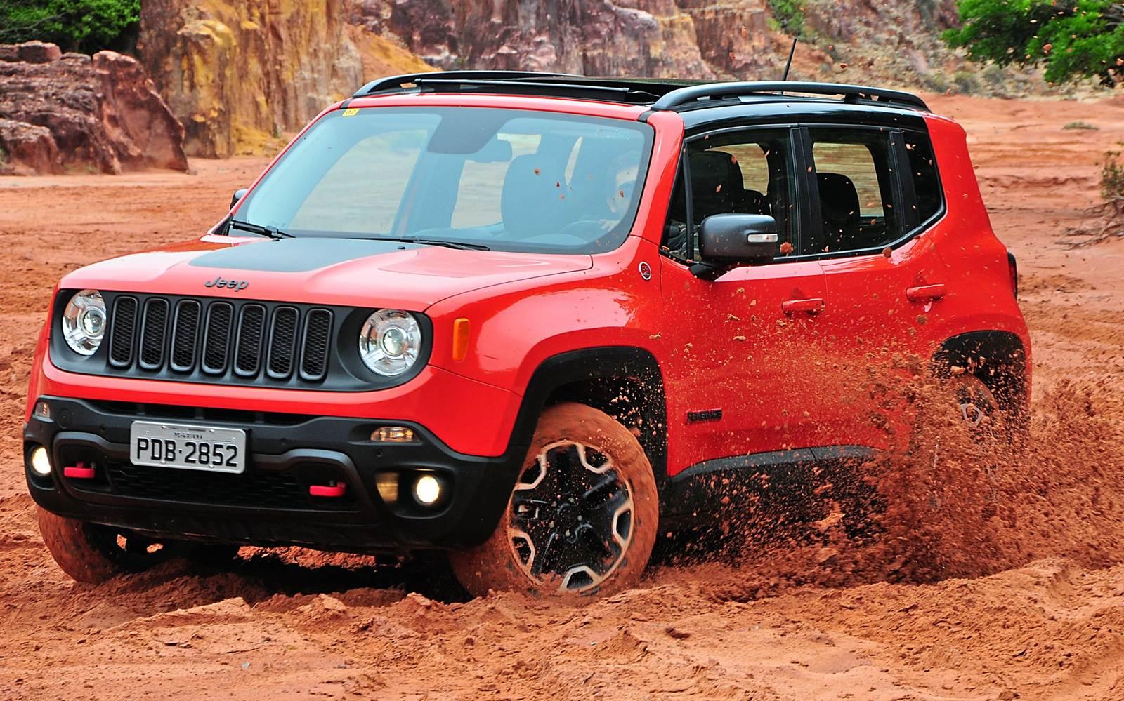 Jeep Renegade - SUV mais vendido do Brasil em julho