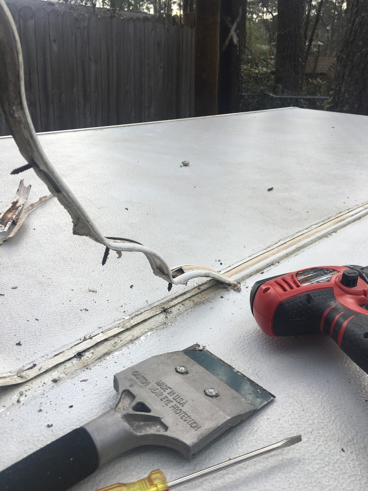 The Southern Glamper Fixing Pop Up Camper Leaks How To