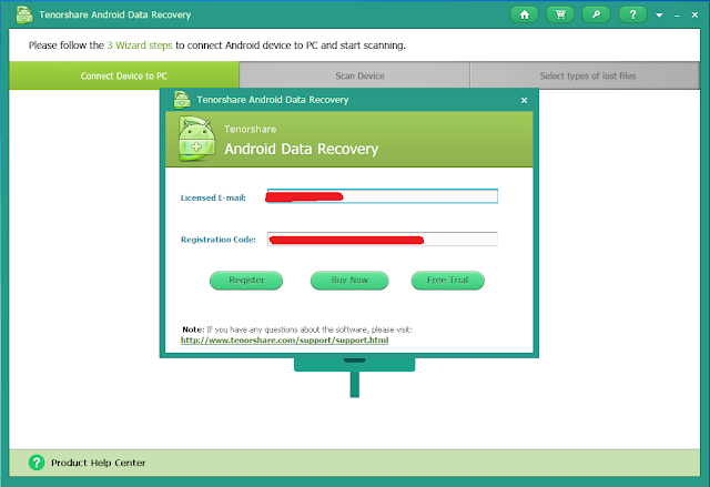 Android Data Recovery screenshots