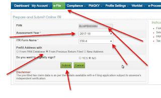 online ITR e-File