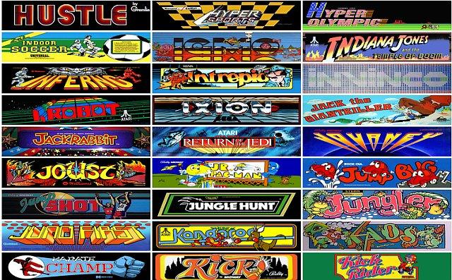 Browser Game: Free Online retro games Bonanza