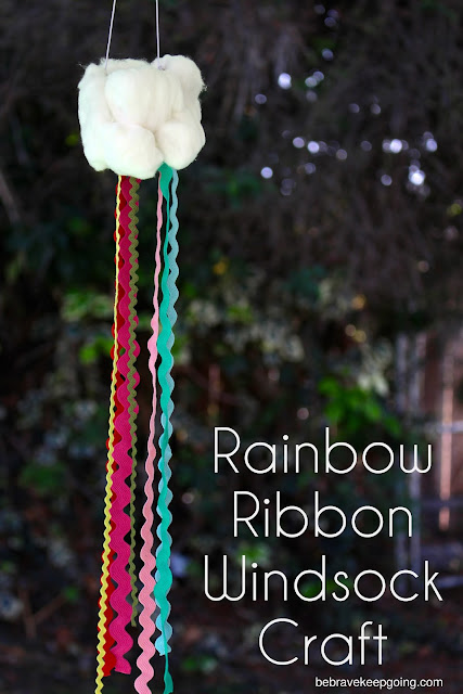 Rainbow Ribbon Windsock