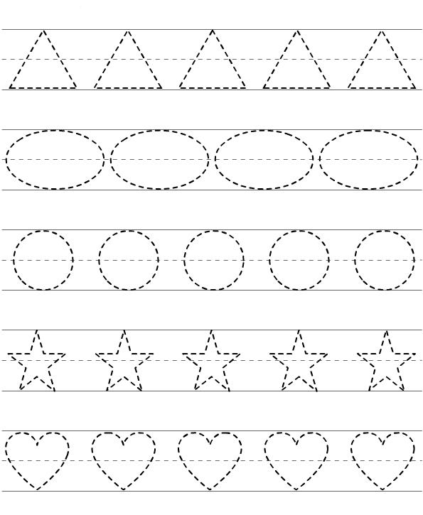 تعلم امساك القلم ورسم الدائرة والاشكال لعمر ثلاث سنوات واكبر