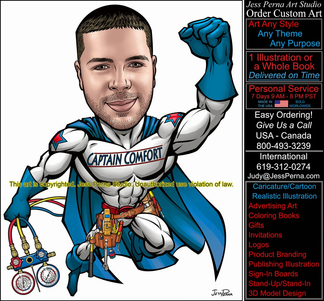 How to Order Ad Cartoons and Caricatures from a Freelance ...