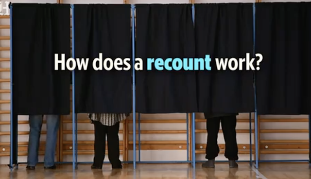 In 26 recounts in major races around the nation since 2000, only 3 outcomes changed