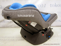 GioBaby GB800E Group 0+ dan 1 (0 - 18kg) Convertible Baby Car Seat