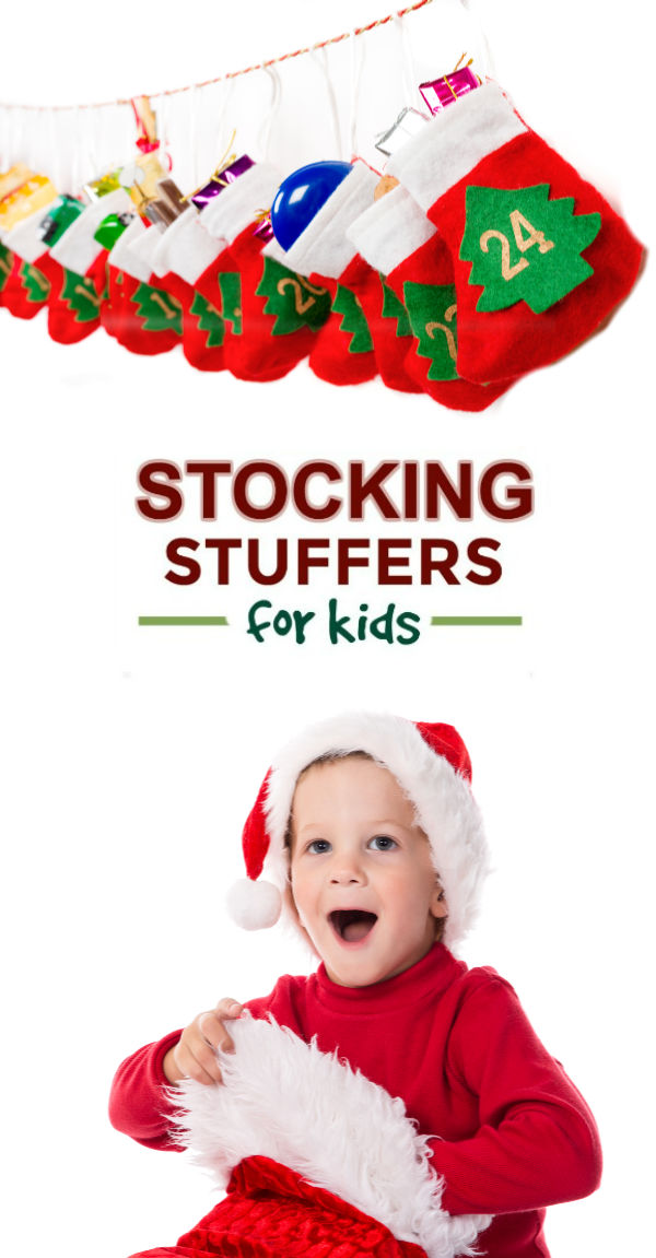 100+ STOCKING STUFFER IDEAS FOR KIDS.  So many I've never seen. Great list! #stockingstuffers #stockingstuffersforkids #stockingstufferideas #stockingstufferideasforkids #stockingstuffersforteens