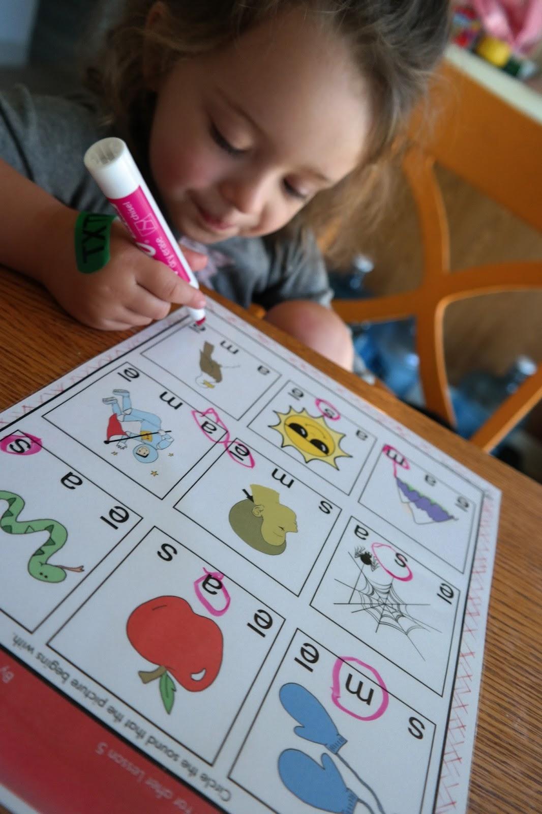 Glimmercat Preparing To Teach My Child To Read Via 100