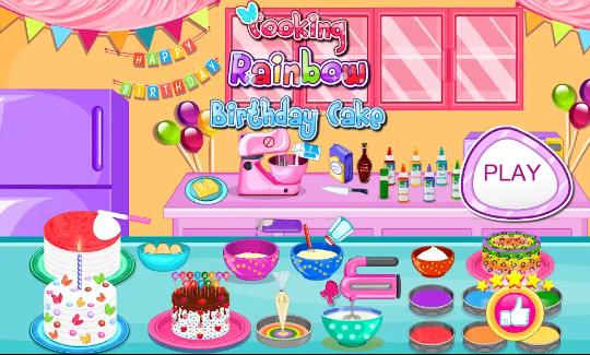Game  Memasak Kue Terbaik