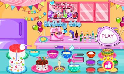 Game  Memasak Kue Ulang Tahun