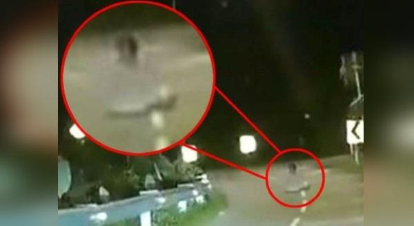 Rakaman Video Hantu Sedang Duduk Bersila Di Bukit Tunku Turut Mendapat Liputan Media Popular Di United Kingdom